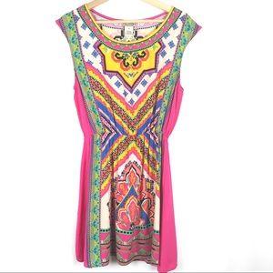 Flying Tomato Sleeveless Summer Dress Size M Pink